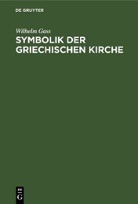 Cover Symbolik der griechischen Kirche