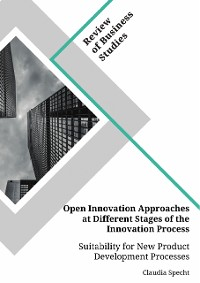 Cover Open Innovation Approaches at Different Stages of the Innovation Process. Suitability for New Product Development Processes