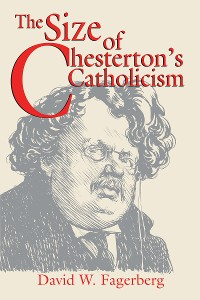 Cover Size of Chesterton's Catholicism, The