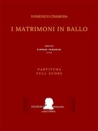 Cover I matrimoni in ballo (Partitura - Full Score)