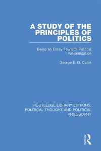 Cover Study of the Principles of Politics