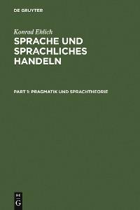 Cover Sprache und sprachliches Handeln