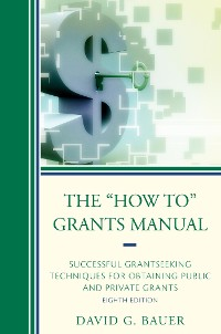 "Cover The ""How To"" Grants Manual"