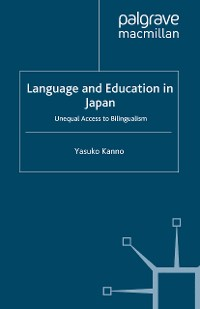 Cover Language and Education in Japan
