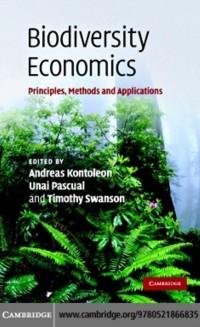 Cover Biodiversity Economics