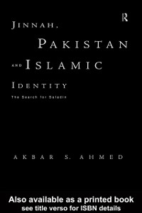 Cover Jinnah, Pakistan and Islamic Identity