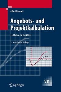 Cover Angebots- und Projektkalkulation