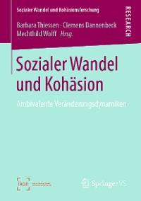 Cover Sozialer Wandel und Kohäsion