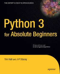 Cover Python 3 for Absolute Beginners