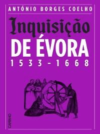 Cover Inquisição de Évora 1533-1668