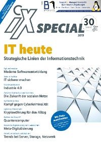 Cover iX Special 2019 - IT heute