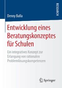 Cover Entwicklung eines Beratungskonzeptes für Schulen