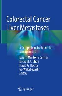 Cover Colorectal Cancer Liver Metastases