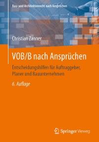 Cover VOB/B nach Ansprüchen
