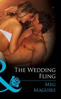 Cover Wedding Fling (Mills & Boon Blaze)