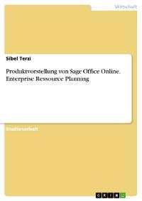 Cover Produktvorstellung von Sage Office Online. Enterprise Ressource Planning