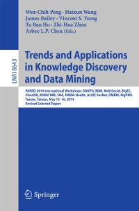 Cover Trends and Applications in Knowledge Discovery and Data Mining