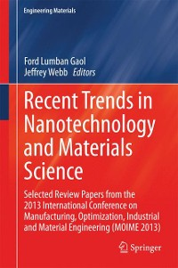 Cover Recent Trends in Nanotechnology and Materials Science