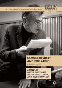 Cover Samuel Beckett and BBC Radio