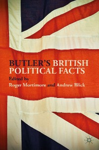 Cover Butler's British Political Facts