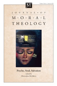 Cover Journal of Moral Theology, Volume 9, Number 1