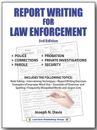 Cover Report Writing for Law Enforcement