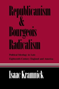 Cover Republicanism and Bourgeois Radicalism