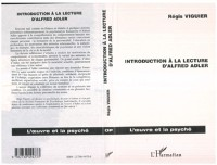 Cover INTRODUCTION A LA LECTURE D'ALFRED ADLER