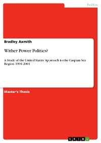 Cover Wither Power Politics?