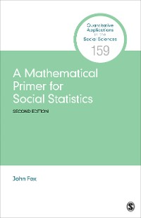 Cover A Mathematical Primer for Social Statistics