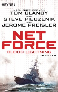 Cover Net Force. Blood Lightning