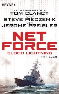Cover Net Force. Blood Lightning