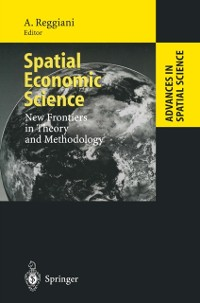 Cover Spatial Economic Science