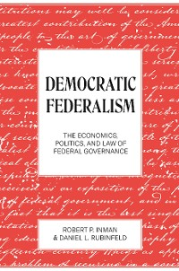 Cover Democratic Federalism