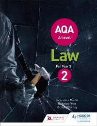 Cover AQA A-level Law for Year 2