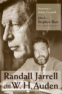 Cover Randall Jarrell on W. H. Auden