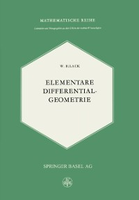 Cover Elementare Differentialgeometrie