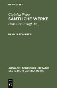 Cover Romane III