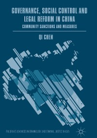 Cover Governance, Social Control and Legal Reform in China