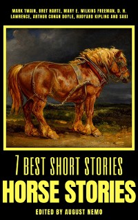 Cover 7 best short stories - Horse Stories