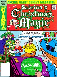 Cover Sabrina's Christmas Magic (2014), Issue 11