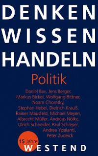 Cover Denken Wissen Handeln Politik