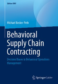Cover Behavioral Supply Chain Contracting