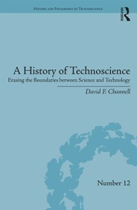 Cover History of Technoscience