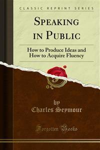 Cover Speaking in Public