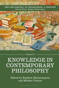 Cover Knowledge in Contemporary Philosophy