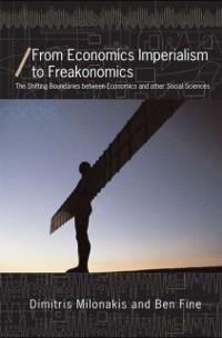 Cover From Economics Imperialism to Freakonomics