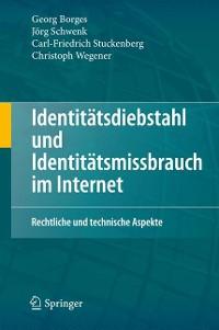Cover Identitätsdiebstahl und Identitätsmissbrauch im Internet