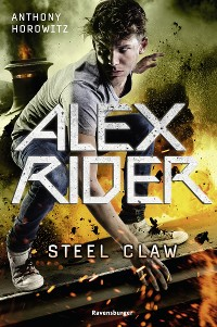 Cover Alex Rider, Band 10: Steel Claw