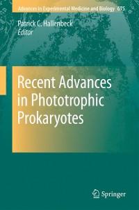 Cover Recent Advances in Phototrophic Prokaryotes
